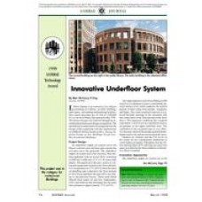 1998 ASHRAE Technology Award: Innovative Underfloor System