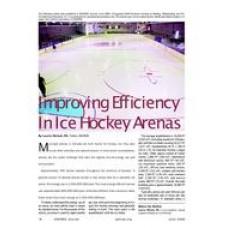 2009 ASHRAE Technology Awards: Improving Efficiency in Ice Hockey Arenas
