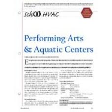 2005 ASHRAE Technology Awards: School HVAC: Performing Arts & Aquatic Centers