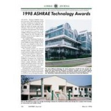 1998 ASHRAE Technology Awards