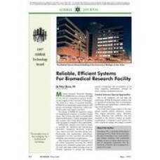 1997 ASHRAE Technology Awards: Reliable, Efficient Systems for Biomedical Research Facility