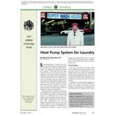 1997 ASHRAE Technology Awards: Heat Pump System for Laundry