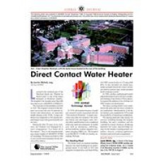 1999 ASHRAE Technology Awards: Direct Contact Water Heater