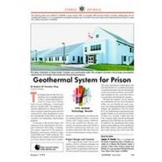 1999 ASHRAE Technology Awards: Geothermal System for Prison