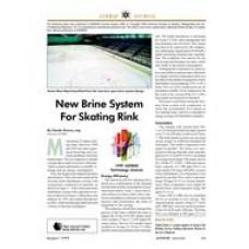 1999 ASHRAE Technology Awards: New Brine System for Skating Rink