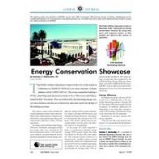1999 ASHRAE Technology Awards: Energy conservation showcase