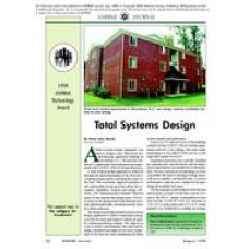 1998 ASHRAE Technology Awards: Total Systems Design
