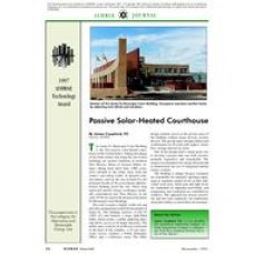 1997 ASHRAE Technology Awards: Passive Solar-Heated Courthouse