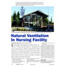 2007 ASHRAE Technology Awards: Natural Ventilation in Nursing Facility