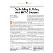 1999 ASHRAE Technology Awards: Optimizing Building and HVAC Systems