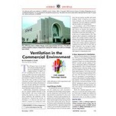 1999 ASHRAE Technology Awards: Ventilation in the Commercial Environment