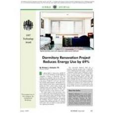 1997 ASHRAE Technology Awards: Dormitory Renovation Project Reduces Energy Use by 69%