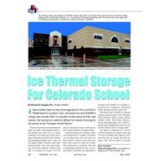 2003 ASHRAE Technology Awards: Ice Thermal Storage for Colorado School