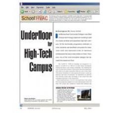 2004 ASHRAE Technology Awards: Underfloor for High-Tech Campus