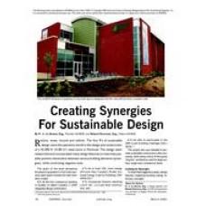 2005 ASHRAE Technology Awards: Creating Synergies For Sustainable Design