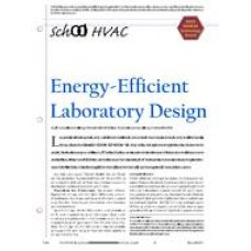 2005 ASHRAE Technology Awards: School HVAC: Energy-Efficient Laboratory Design