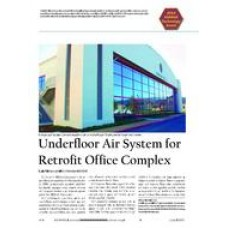 2004 ASHRAE Technology Awards: Underfloor Air System for Retrofit Office Complex