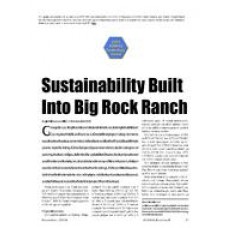 2005 ASHRAE Technology Awards: Sustainability Built Into Big Rock Ranch