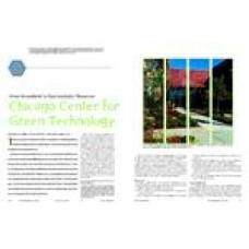 2006 ASHRAE Technology Awards: Chicago Center for Green Technology