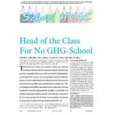 2006 ASHRAE Technology Awards: Head of the Class For No GHG-School