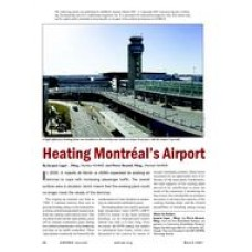 2007 ASHRAE Technology Awards: Heating Montréal's Airport