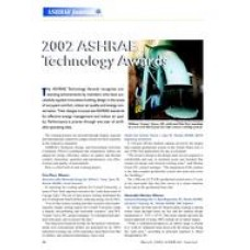 2002 ASHRAE Technology Awards