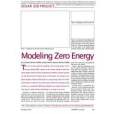02: Solar NZEB Project - Modeling Zero Energy