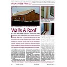 03: Solar NZEB Project: Walls & Roof