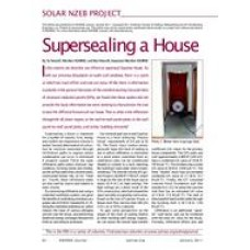 05: Solar NZEB Project - Supersealing a House