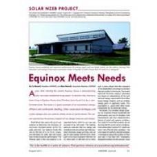 12: Solar NZEB Project: Equinox Meets Needs