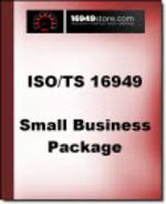 TS 16949 Small Business Package