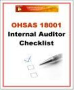 OHSAS 18001 Internal Auditor Checklist