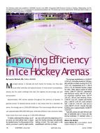 2009 ASHRAE Technology Awards: Improving Efficiency in Ice Hockey Arenas