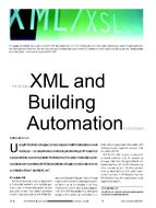 XML and Building Automation