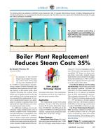 1999 ASHRAE Technology Awards: Boiler Plant Replacement Reduces Steam Costs 35%