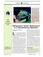 1998 ASHRAE Technology Awards: Refrigeration System Replacement in a Manufacturing Operation