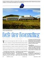 2009 ASHRAE Technology Awards: Lab for Learning
