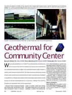 2009 ASHRAE Technology Awards: Geothermal for Community Center