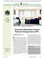 1997 ASHRAE Technology Awards: Dormitory Renovation Project Reduces Energy Use by 69%