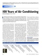 100 Years of Air Conditioning