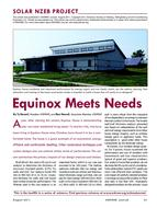 12: Solar NZEB Project: Equinox Meets Needs
