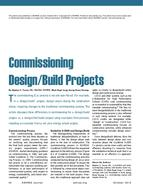 Commissioning Design/Build Projects