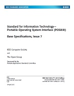 IEEE 1003.1, 2013 Edition